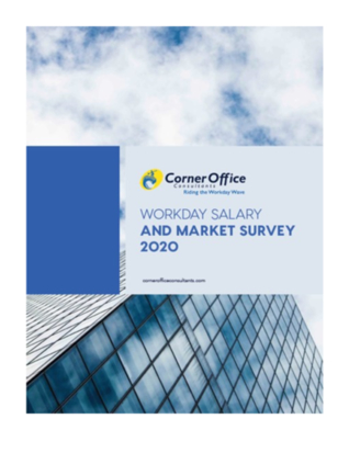 Corner Office Consultants 2020 Workday Salary Survey